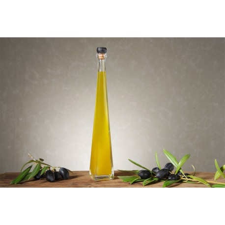 Botella Aceite de Oliva Virgen Extra 100ML Mod: Piramidal