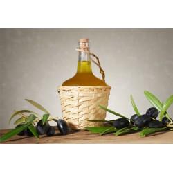 Botella Aceite de Oliva Virgen Extra 250ML Mod: Mimbre